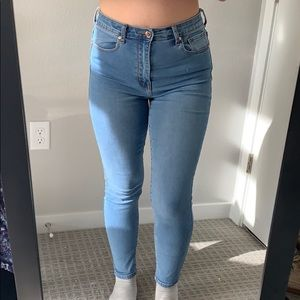 F21 High- Waisted Jeans size 27